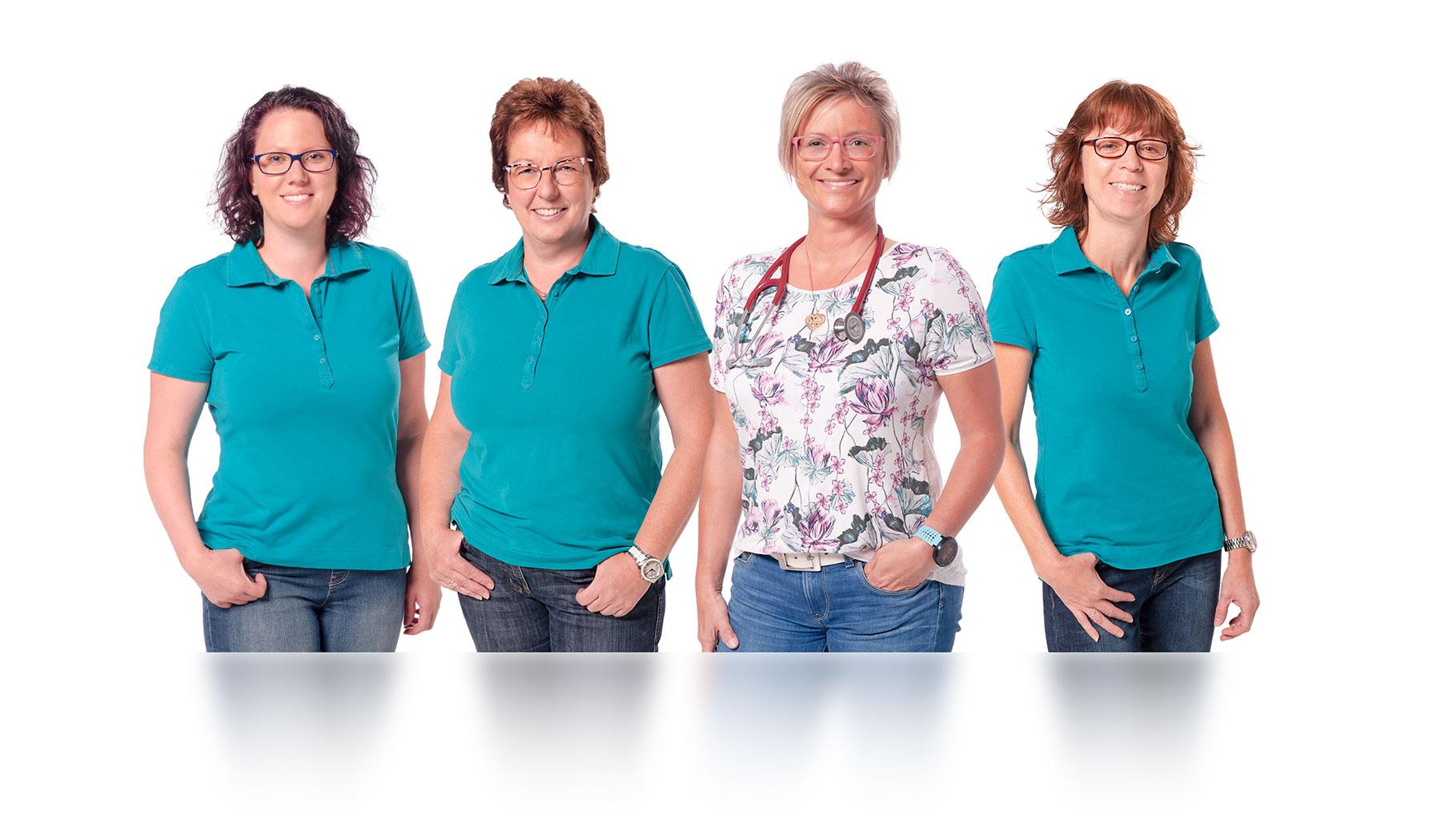Das Team der Praxis Dr. Jutta Denner